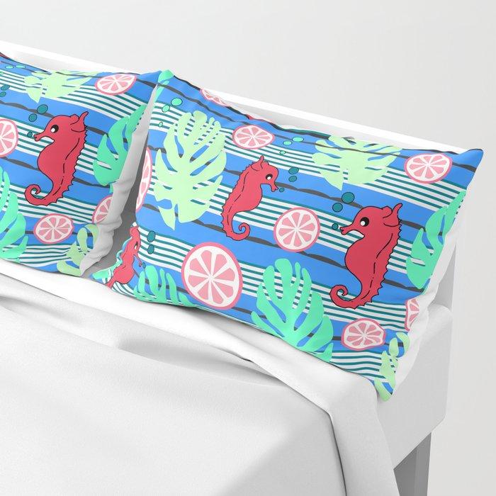 Fruity underwater Pillow Sham