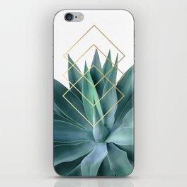 Agave geometrics iPhone Skin