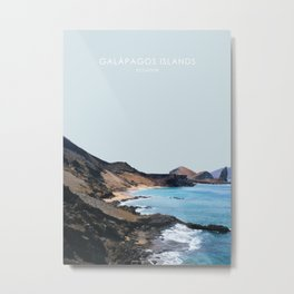 Galapagos Islands, Ecuador Travel Artwork Metal Print