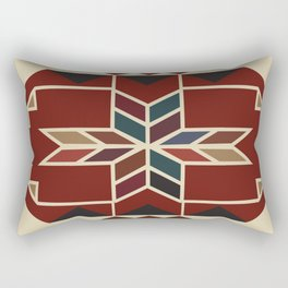 American Native Pattern No. 24 Rectangular Pillow