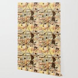 Miniature Original - Brown nuetral Wallpaper