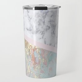 Whimsical marble fantasy Travel Mug