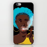 detroit iPhone & iPod Skins featuring Detroit by Sasha Dee Richardson