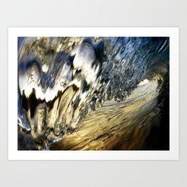 Icicle Barrel - Encinitas, CA Art Print