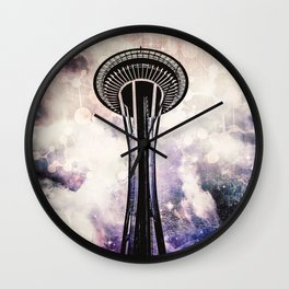 To Space Wall Clock