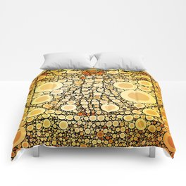 The Vitruvian Man Comforters