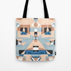 Tribal Technology 2 Tote Bag