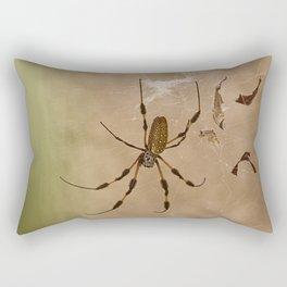 Florida banana Spider Rectangular Pillow
