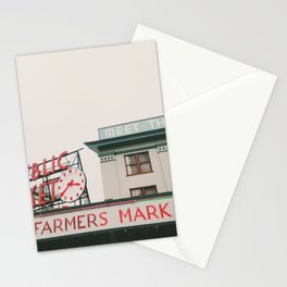 Pikes Place- Seattle Stationery Cards