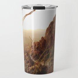 Desert Sunset Trail Travel Mug
