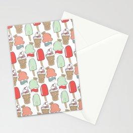 Ice Cream Cart Stationery Cards