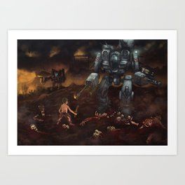 Goliath Art Print