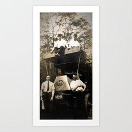 Byrne Coal Antique Truck Art Print