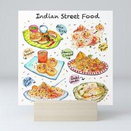 Indian Street Food Mini Art Print