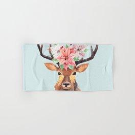 Winter Deer 2 Hand & Bath Towel