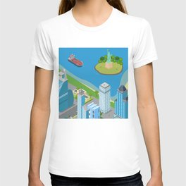 Helicopter tour of New York City II. T-shirt