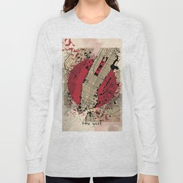 new york city map japanese style Long Sleeve T-shirt