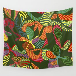 holiday fleur Wall Tapestry