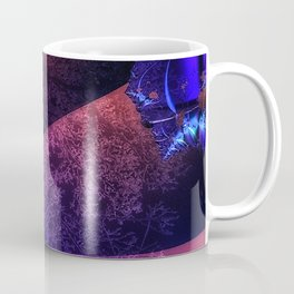 Pleated fantasy forest Coffee Mug