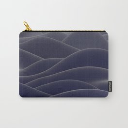 Blue ocean of wax Carry-All Pouch