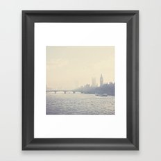 the city of London ... Framed Art Print