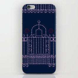 stitched gate iPhone Skin