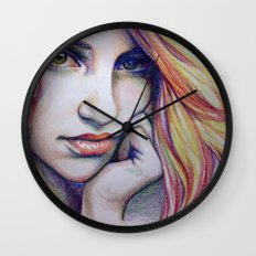 crayolagron Wall Clock
