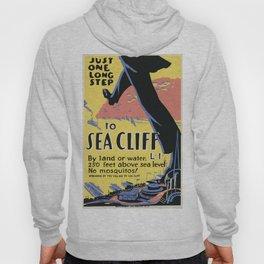 Vintage poster - Sea Cliff Hoody