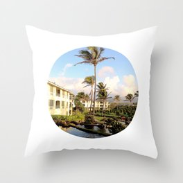 Kauai Dreams Throw Pillow