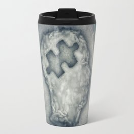 Puzzled Head Travel Mug