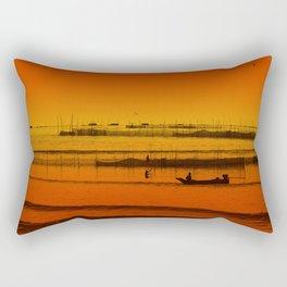 Tonlesap lake Rectangular Pillow
