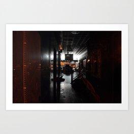 Night Shop Art Print
