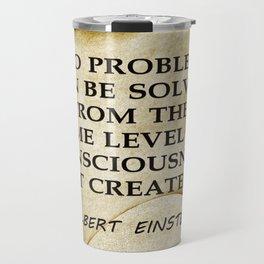 No Problem... Albert Einstein Travel Mug