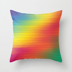 Paint The Fence. Throw Pillow