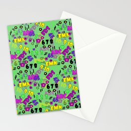 Children , school , cartoon 3 Stationery Cards