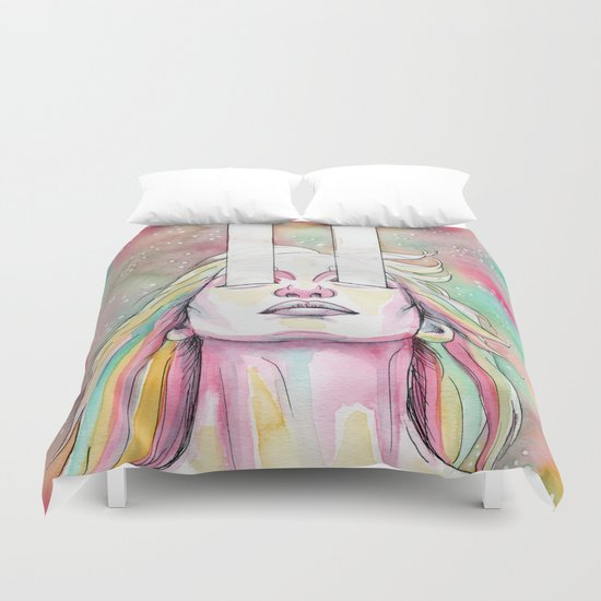 high beams Duvet Cover