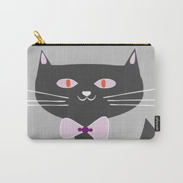 cool black cat Carry-All Pouch