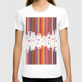 Colorful Pencils - Drawing Tools #society6 #decor #buyart T-shirt