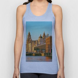 Pier Head and the Albert Dock Unisex Tank Top
