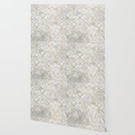 Art Deco over Stone II Wallpaper