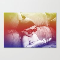 boss Canvas Prints featuring Boss by The Dreamaholic
