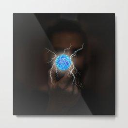 Energy Ball by GEN Z Metal Print