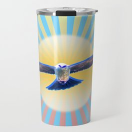 Hawk Starburst Travel Mug