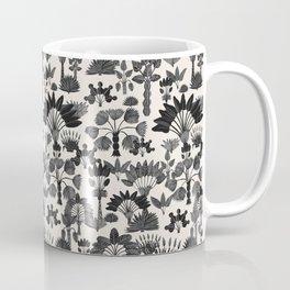 Exotic Garden Gray Coffee Mug