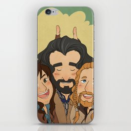 The Dorks of Durin iPhone Skin