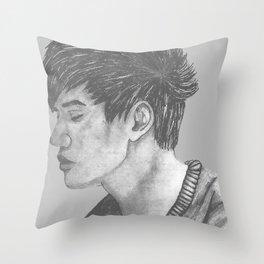 The phantom of him Throw Pillow