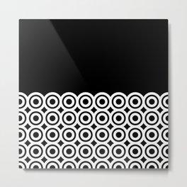 raspust (black/white) Metal Print