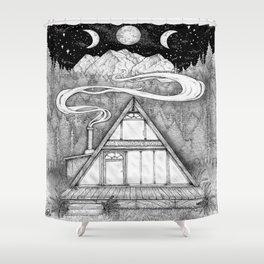 Dwelling Shower Curtain