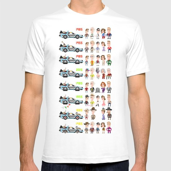 Back to the Future iotacons T-shirt