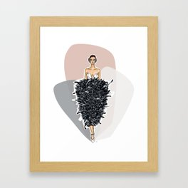 Lights! Camera! Fashion! Framed Art Print